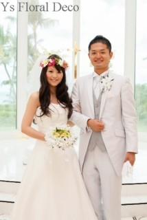 南国の花冠 ハワイ挙式の新婦さんへ_b0113510_10263137.jpg