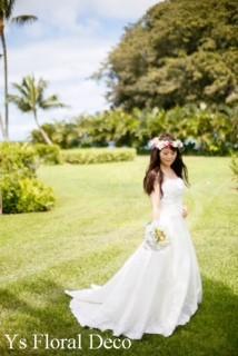 南国の花冠 ハワイ挙式の新婦さんへ_b0113510_10263982.jpg