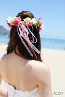 南国の花冠 ハワイ挙式の新婦さんへ_b0113510_1026482.jpg