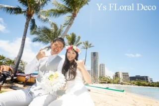 南国の花冠 ハワイ挙式の新婦さんへ_b0113510_1027045.jpg