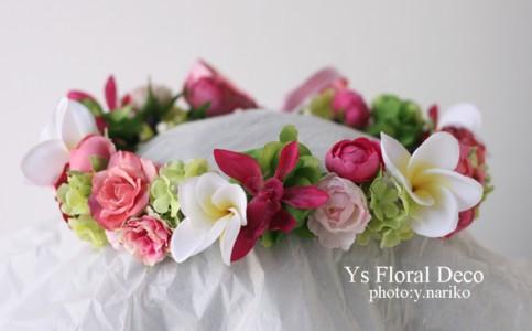 南国の花冠 ハワイ挙式の新婦さんへ_b0113510_102799.jpg