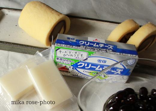 おせちのリメイク  partⅡ  チーズケーキ編_a0264538_12434623.jpg