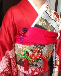 Yさま 成人式の二重の花かんざし_c0122475_14525221.jpg