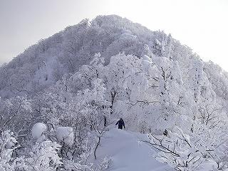 立石林道から鷲ヶ岳(東面滑降)_e0064783_20274745.jpg