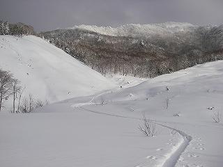 立石林道から鷲ヶ岳(東面滑降)_e0064783_20281443.jpg