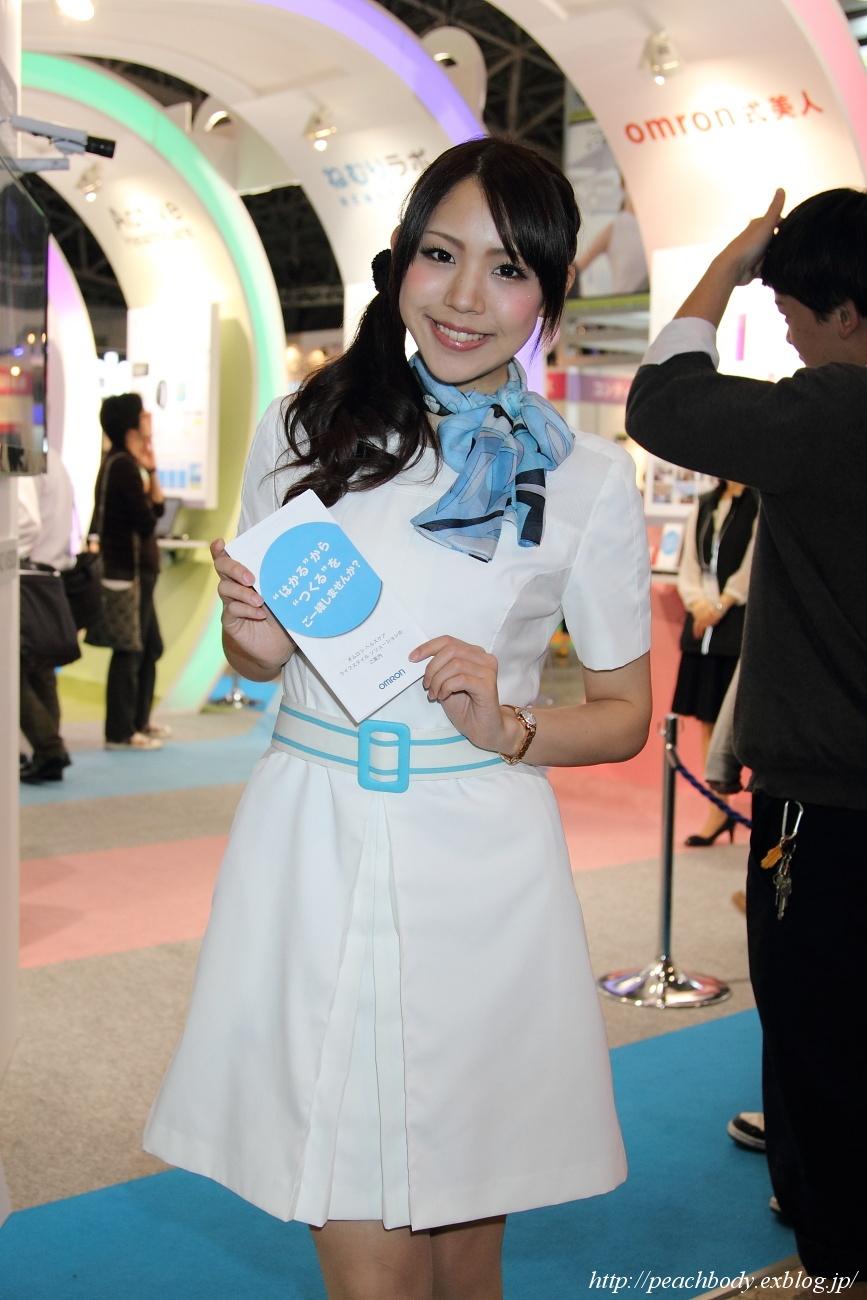鈴音涼子 さん(オムロン株式会社 ブース)_c0215885_23411879.jpg
