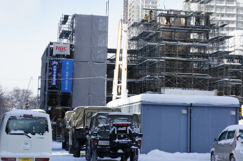 札幌雪祭り、ただ今準備中_b0019313_17542174.jpg