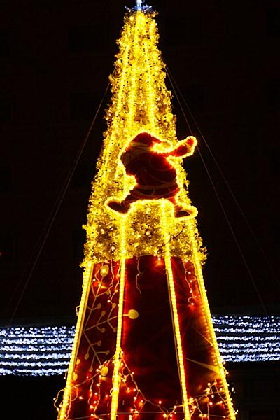 横浜ワールドポーターズのクリスマスイルミネーション2013_b0145398_164954.jpg