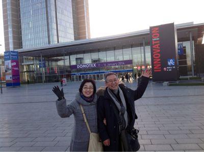 今ドイツで行われている絨毯博覧会に来ています‼_a0071934_6564536.jpg