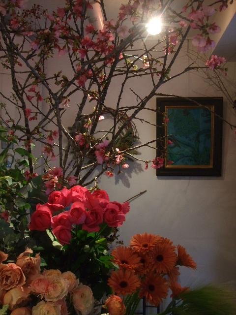 オークリーフ(春の花木に忘れな草)_f0049672_175913.jpg