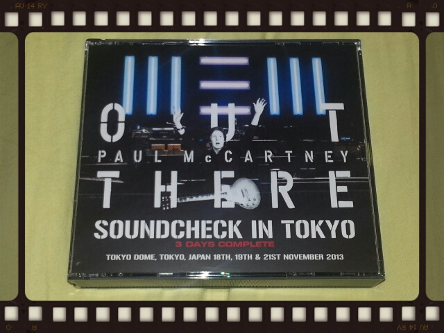 PAUL McCARTNEY / OUT THERE JAPAN TOUR 2013 SOUNDCHECK IN TOKYO 3 DAYS COMPLETE_b0042308_037062.jpg