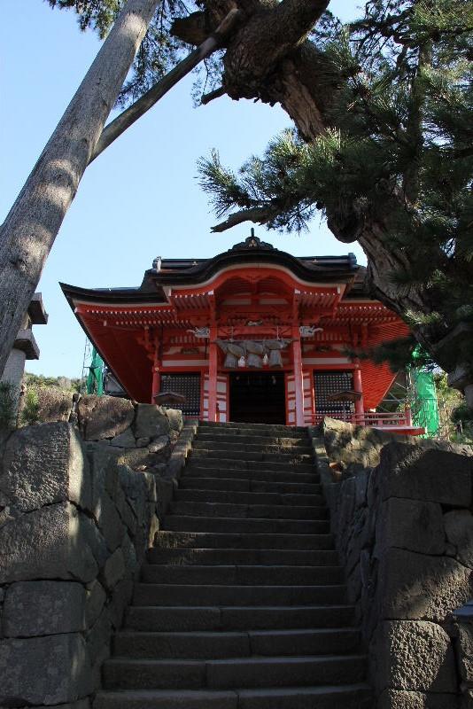 日本神話の旅 【日御崎神社】_c0011649_12494324.jpg