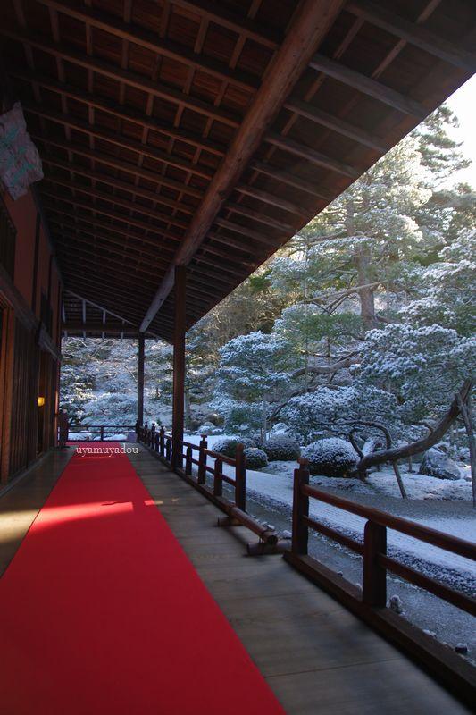 冬の京都・雪の曼殊院 #1_a0157263_19585632.jpg