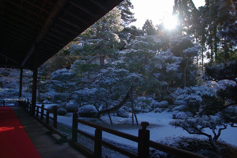 冬の京都・雪の曼殊院 #1_a0157263_19585642.jpg