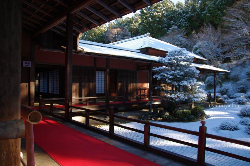 冬の京都・雪の曼殊院 #1_a0157263_19585722.jpg