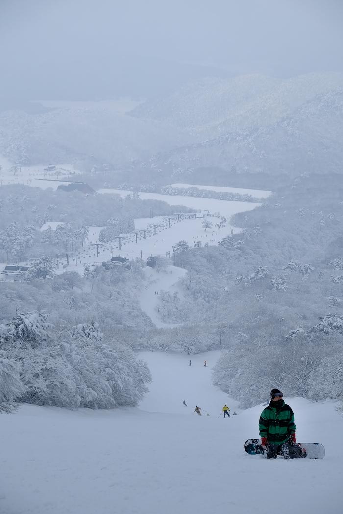 大山国際スキー場からの眺め♪ : ア...