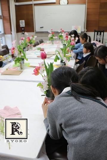 「お花のこよみ教室」2014.1.15_c0128489_16332136.jpg
