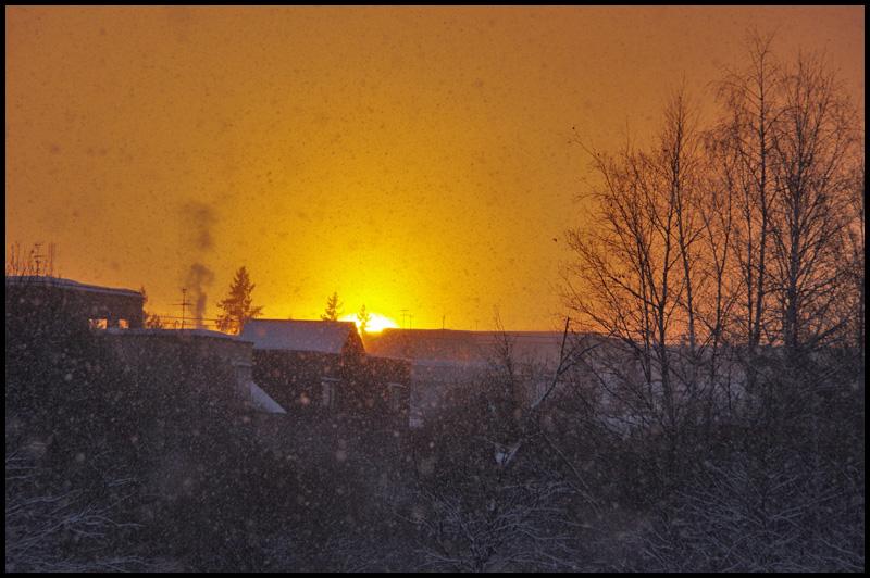氷点下10度の日の出_b0019313_17325850.jpg