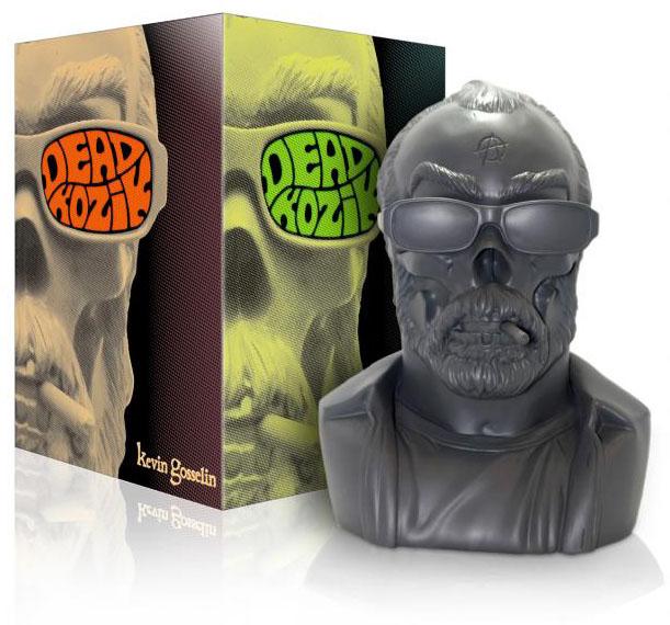 Dead KOZIK Bust - charcoal grey by Kevin Gosselin_e0118156_1181686.jpg