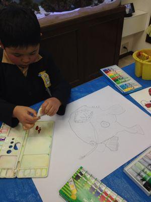 水彩画つづき あべの教室_f0215199_9325430.jpg