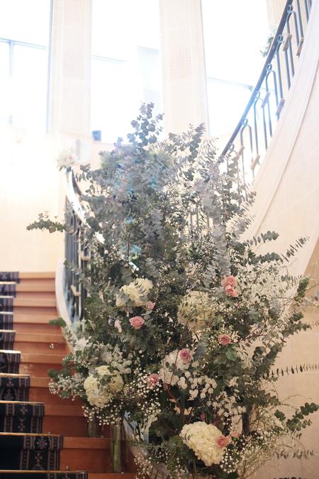 冬の装花 シェ松尾天王洲倶楽部さまへ 自分の感受性くらい_a0042928_23551263.jpg