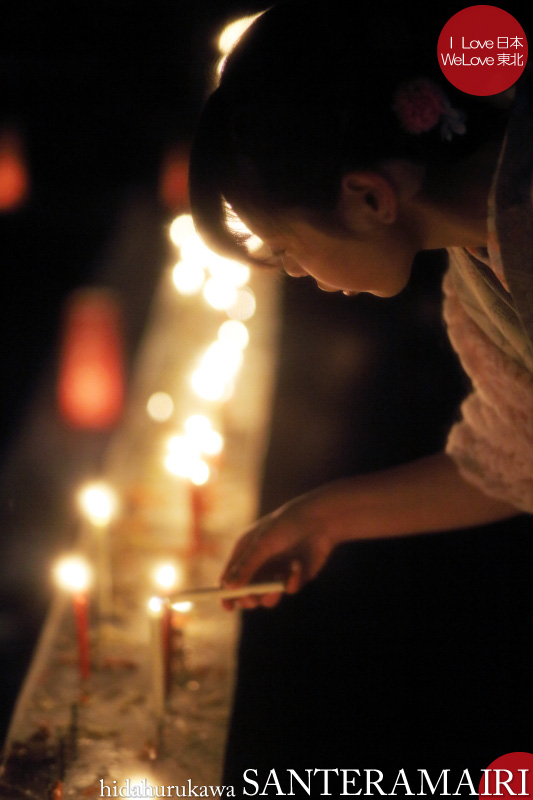 飛騨古川三寺まいり2014 - 写真撮影記 02 月と三寺ろうそくと木星と編_b0157849_02474113.jpg