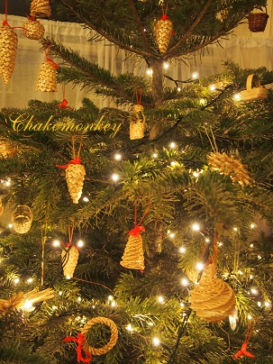 Christmas TreeとGingerbread_f0238789_7304431.jpg