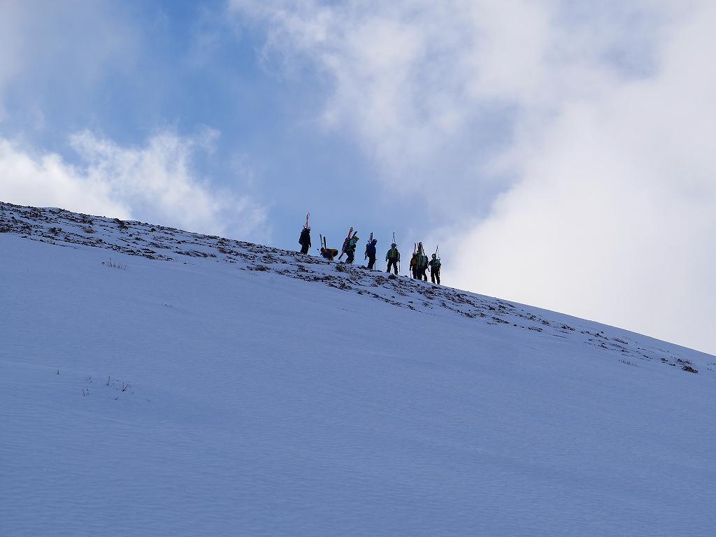 1月17日、スノーハイク?で樽前山_f0138096_8593836.jpg