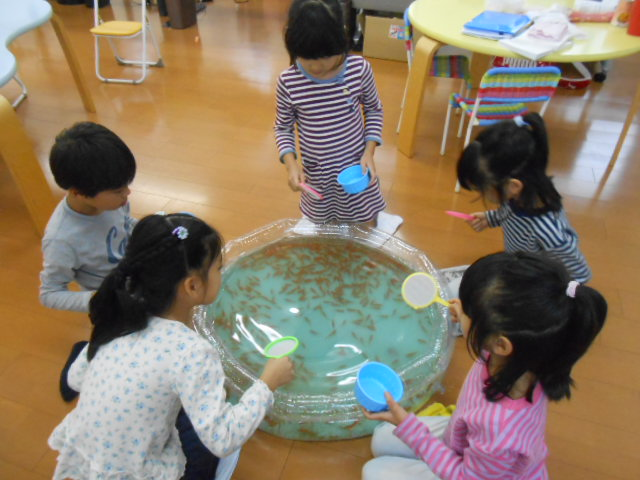 10月23日 金魚すくい大会_c0315908_22154642.jpg