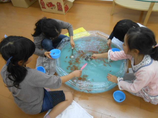 10月23日 金魚すくい大会_c0315908_22154735.jpg