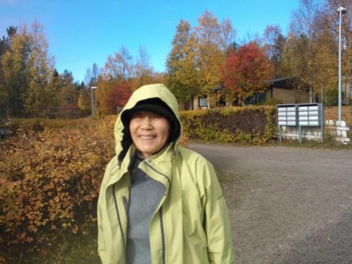 秋の訪問者・・・_c0197842_3435230.jpg