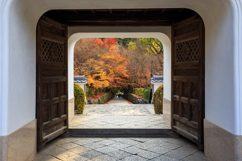 【額縁光景・その12】Finale!京都の紅葉(宇治・興聖寺/琴坂)_f0155048_23141258.jpg