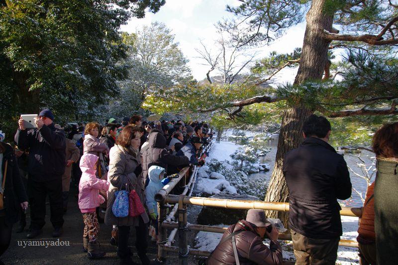 京都・冬の時・雪の金閣寺_a0157263_15203327.jpg