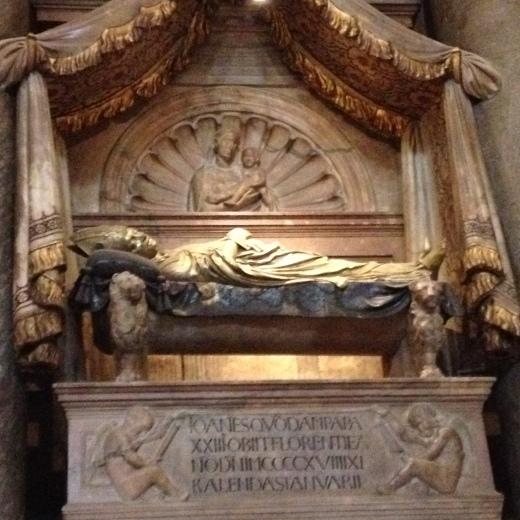 22/01/2014  サン・ジョヴァンニ洗礼堂:ヨハネス23世_a0136671_21275138.jpg