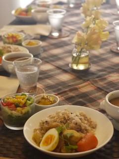 パルケ先生1月 dish lesson 『熱々のスープカレーで冬ご飯』_e0159185_10152555.jpg