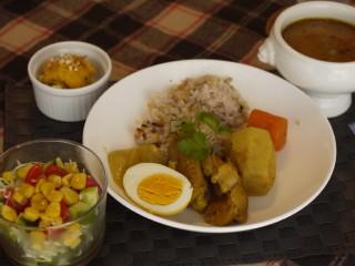 パルケ先生1月 dish lesson 『熱々のスープカレーで冬ご飯』_e0159185_10174418.jpg