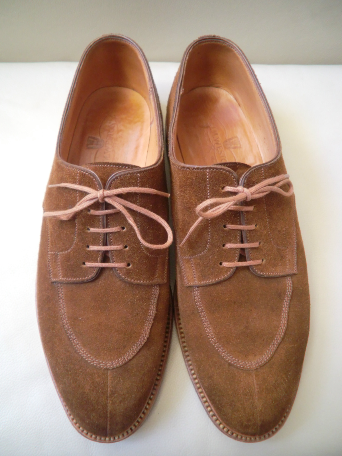 "J.M WESTON  ""#598 Split-Toe Classic Derby\""_a0216198_2412277.jpg"