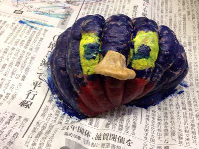 かぼちゃ水彩画後…〜城陽教室〜_f0215199_10555487.jpg