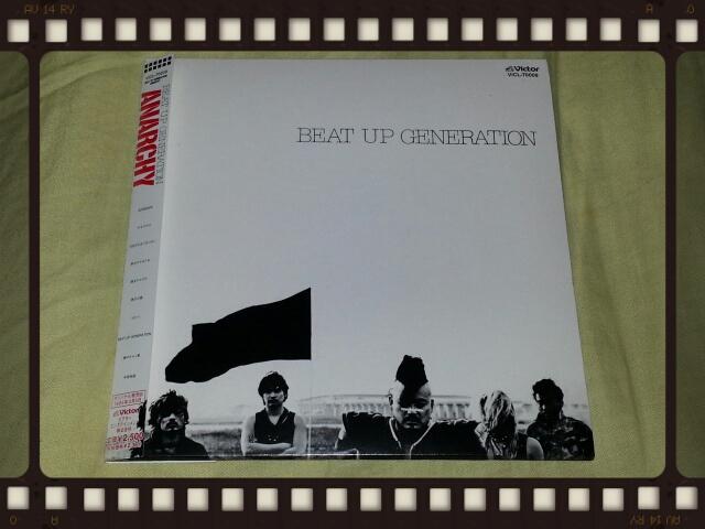 アナーキー / BEAT UP GENERATION (紙ジャケ)_b0042308_22582765.jpg