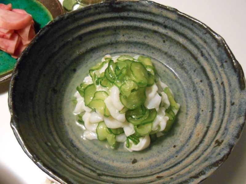 みずだこの美味しい食べ方を札幌で習いました!_a0095931_22585055.jpg