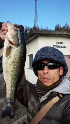最新釣果 亀山湖&雄蛇ヶ池バス_e0116534_15494420.jpg