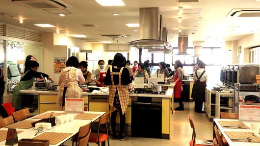 東京ガス料理教室と味噌炒め弁当_b0171098_1552834.jpg