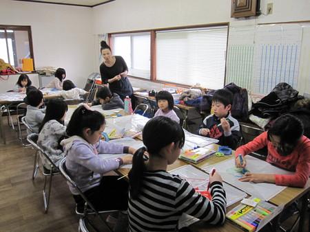 長尾教室 ~凧作り~_f0215199_19104439.jpg
