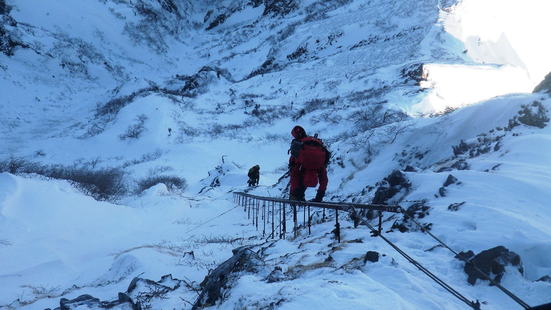 冬の八ヶ岳にSACが集う【八ヶ岳キレット縦走】_d0237801_0551919.jpg