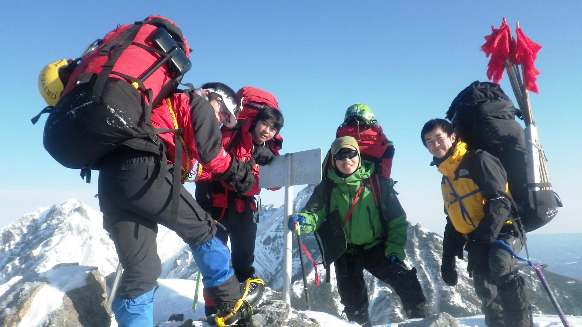 冬の八ヶ岳にSACが集う【八ヶ岳キレット縦走】_d0237801_114162.jpg