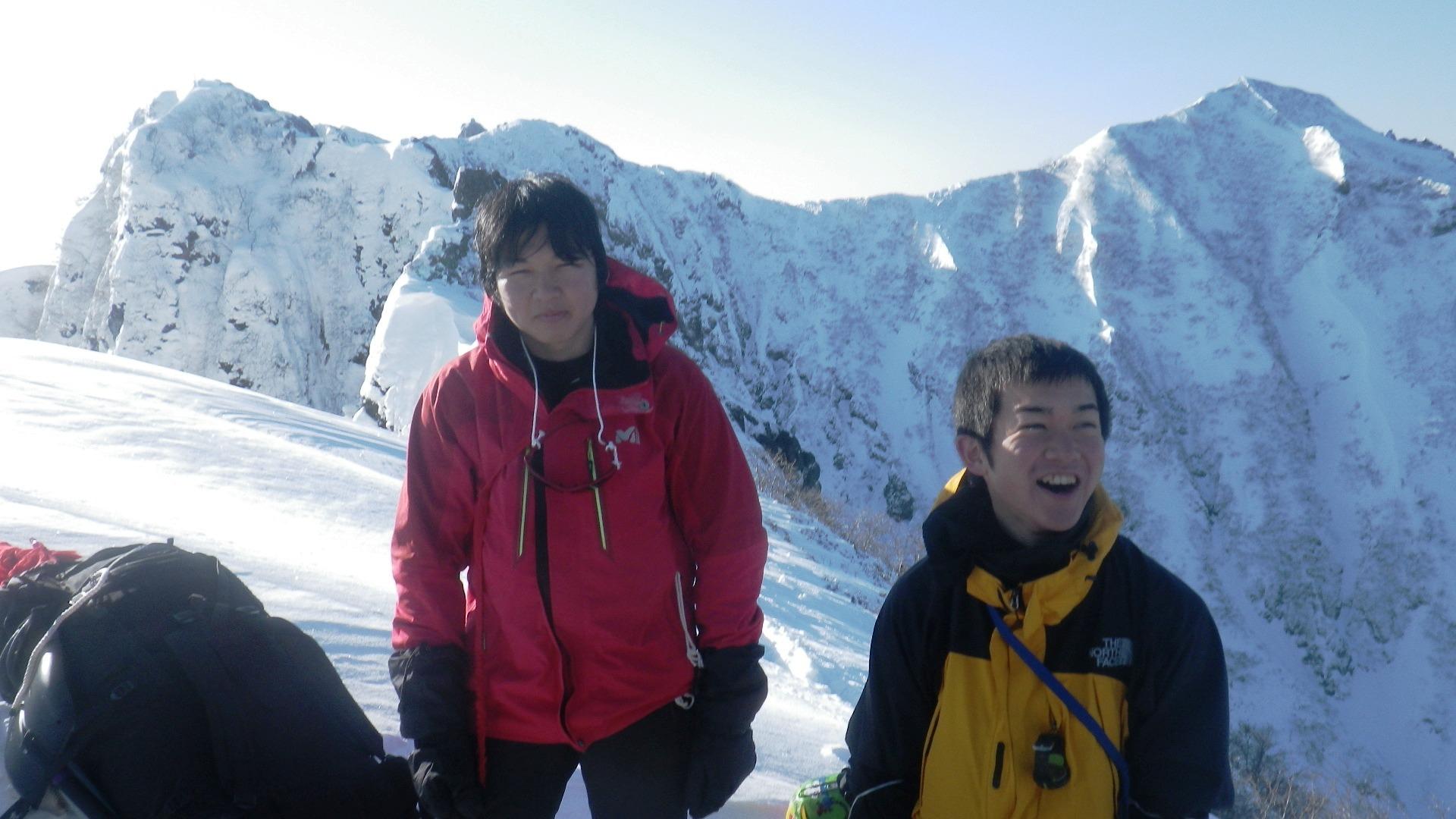冬の八ヶ岳にSACが集う【八ヶ岳キレット縦走】_d0237801_1175865.jpg