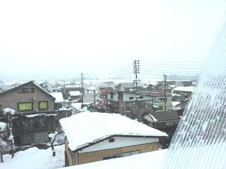 雪おろし~_a0128408_1416595.jpg