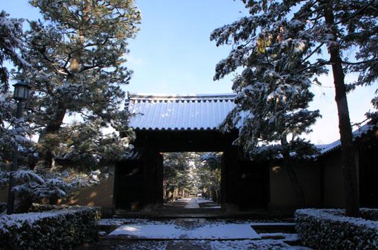 大徳寺参道から 14雪げしき2_e0048413_925697.jpg