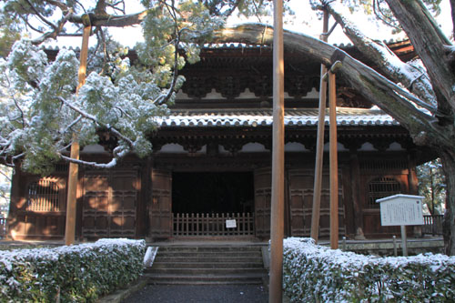 大徳寺参道から 14雪げしき2_e0048413_926395.jpg