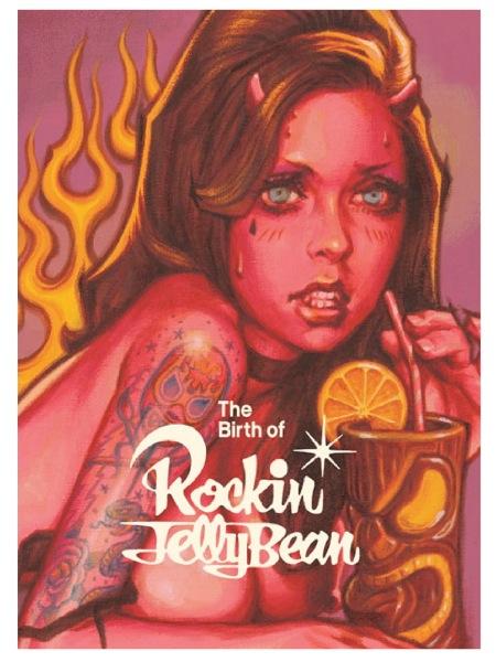 待望のロッキンジェリービーン氏の初画集!! The Birth of Rockin\' Jelly Bean☆_c0084047_21564662.jpg